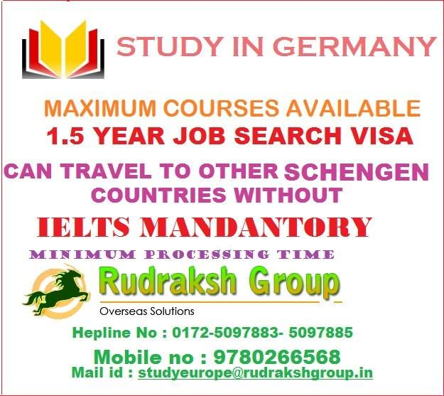 Study visa in Germany
