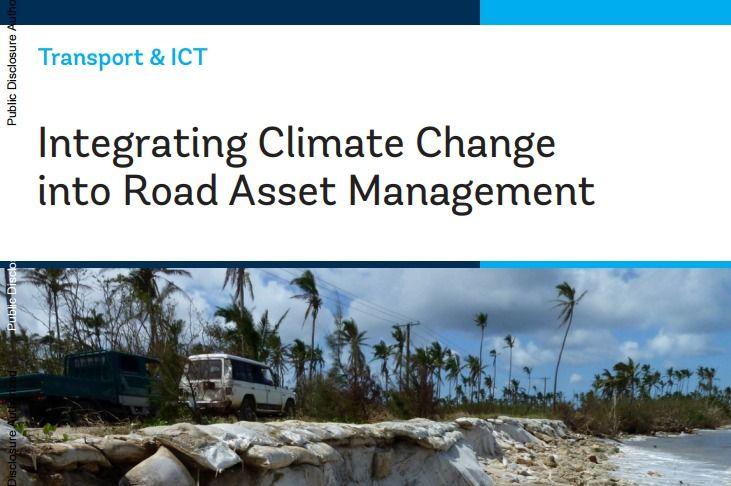Integrating Climate Change into Road Asset Management