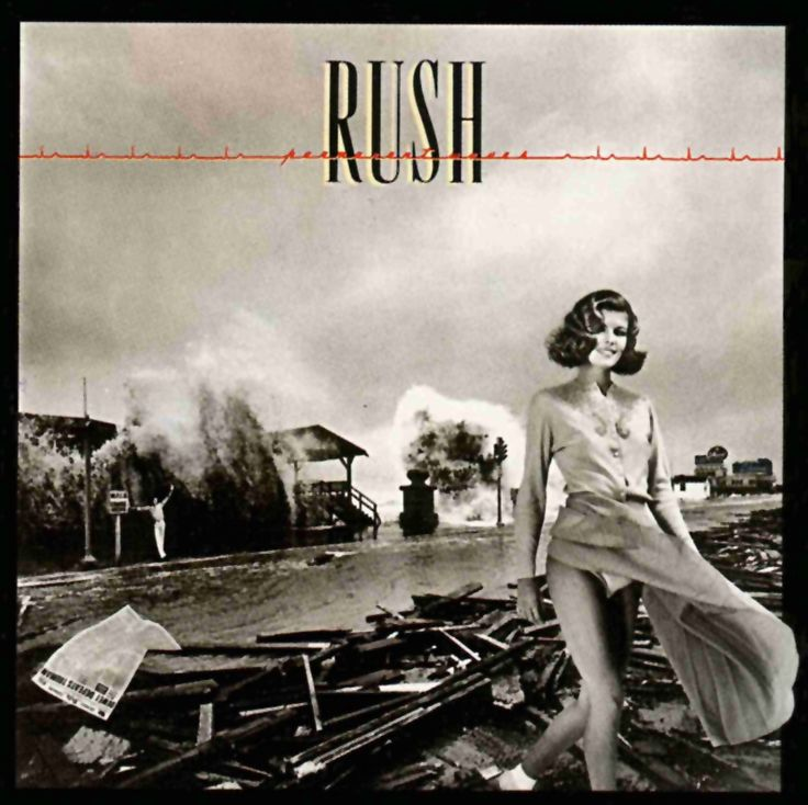 #Rush - Permanent Waves (album cover art #1980) the original version. #AlbumArt