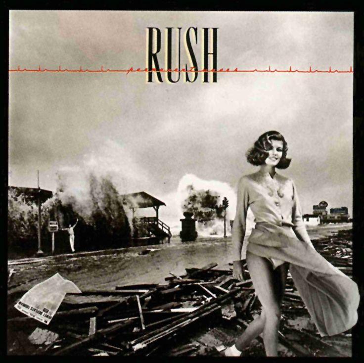 #Rush - Permanent Waves (album cover art #1980) the original version. #AlbumArt