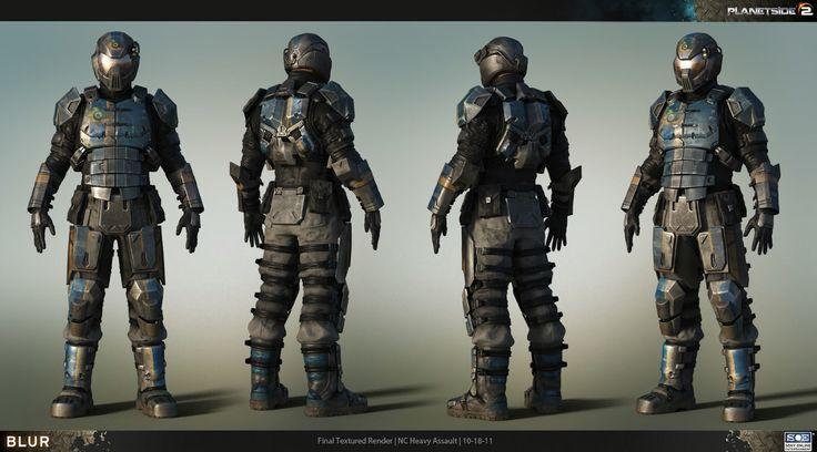Planetside 2 armor.