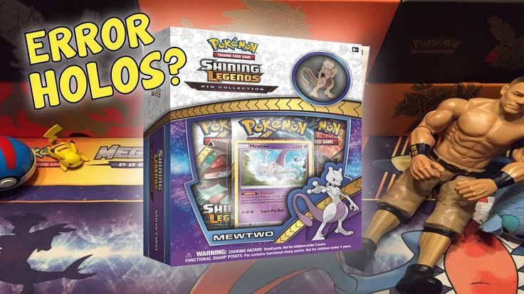 Will We Get An Error? Opening A Mewtwo Shining Legends Pin Collection Box