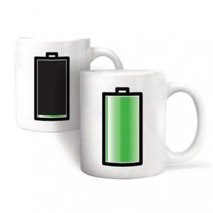 Taza Pila Recargable / Battery Morph Mug · Tienda de Regalos originales UniversOriginal