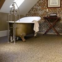 Sleek bathroom interior #bathroom / #interiordesign