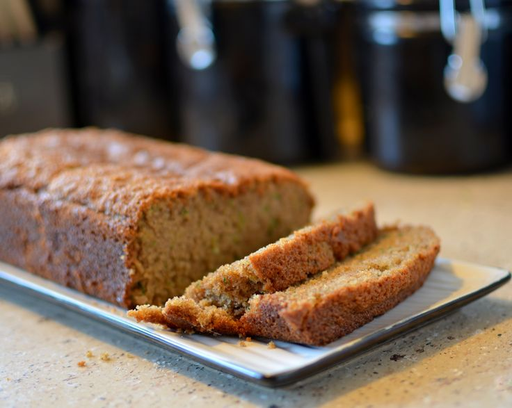 This zucchini bread is so moist and flavorful. A great use of extra zucchini from your garden #lmldfood