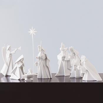 Scribbit | A Blog About Motherhood in Alaska: Nativity Sets