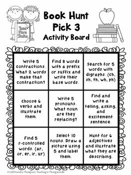 """These are 2 FREE Reading Response choice boards that can be used with just about any book! Great for individual use, partners, whole group, homework, reading groups, you name it. Plus you can meet many of your standards with quick activities.One focuses on written responsesOne focuses on grammar skillsEnjoy!~Kendra Thompson""""Teaching in Thompsonville""""menus, tic-tac-toe, choice boards"""