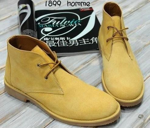 Britischer Stil Schuhe für Männer Khaki-US$ 46.22 (€ 36,98)-Großhandelspreisen bei Rock-kleidung.com