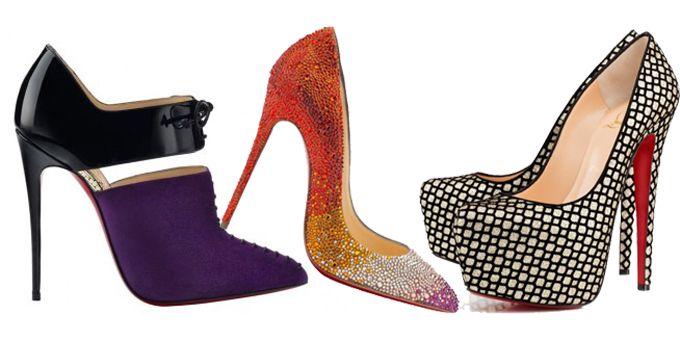 Le collezioni Louboutin, sono sempre ricche di sfumature e dettagli che le rendono parte del colosso calzaturiero. Tra borchie, semplicità e particolarihttp://www.sfilate.it/238050/scarpe-2014-christian-louboutin-camaleontiche-e-chic