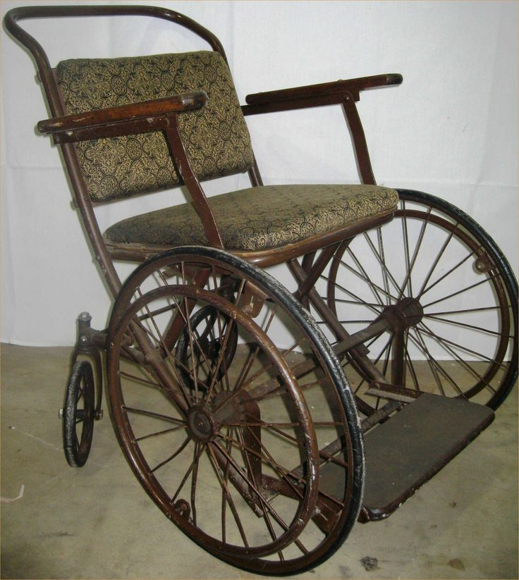 old fashioned wheelchair