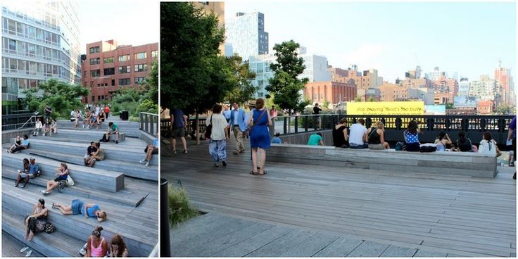 THE HIGHLINE - EN OASE I NYC / Highline NY