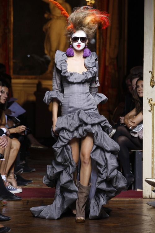 If I should choose a wedding dress today. Just in white :-). Vivienne Westwood