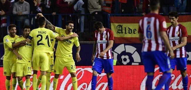 Villarreal gana 1-0 ante Atlético de Madrid de la Liga española - http://www.notimundo.com.mx/deportes/villarreal-atletico-de-madrid-liga/
