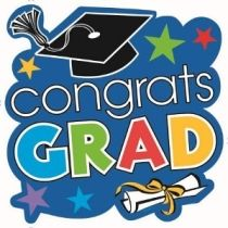 """Graduation Cutout 15in 12ct Congratulations! You did it! Let that young graduate feel your heartwarming greeting with the help of this sturdy, graduation cutout that features the words: """"You Did It"""" in colorful letters set on a sky blue background with accents of multi-colored stars, a graduate's hat and a diploma. It'll help you get that uplifting message across in no time! Package contains 12 graduation cutouts."""