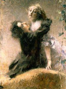 """L'edera"" - Tranquillo Cremona, 1878"