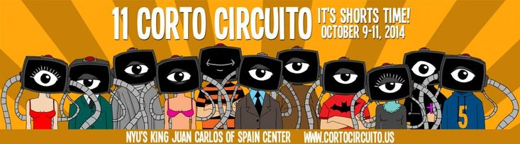 New York's Corto Circuito returns for its 11th year of presenting shorts from and about Latin America, Spain and the U.S.  And it's all free!  New York: Oct. 9 - 11. Full details here.