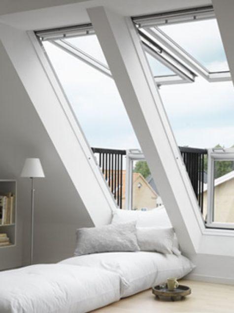 Velux führt Dachfenster ein. Wir haben VELUX auf …