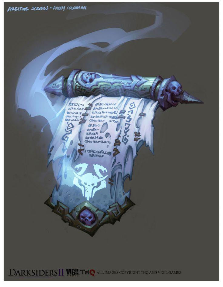 Artes do game Darksiders II, por Avery Coleman   THECAB - The Concept Art Blog
