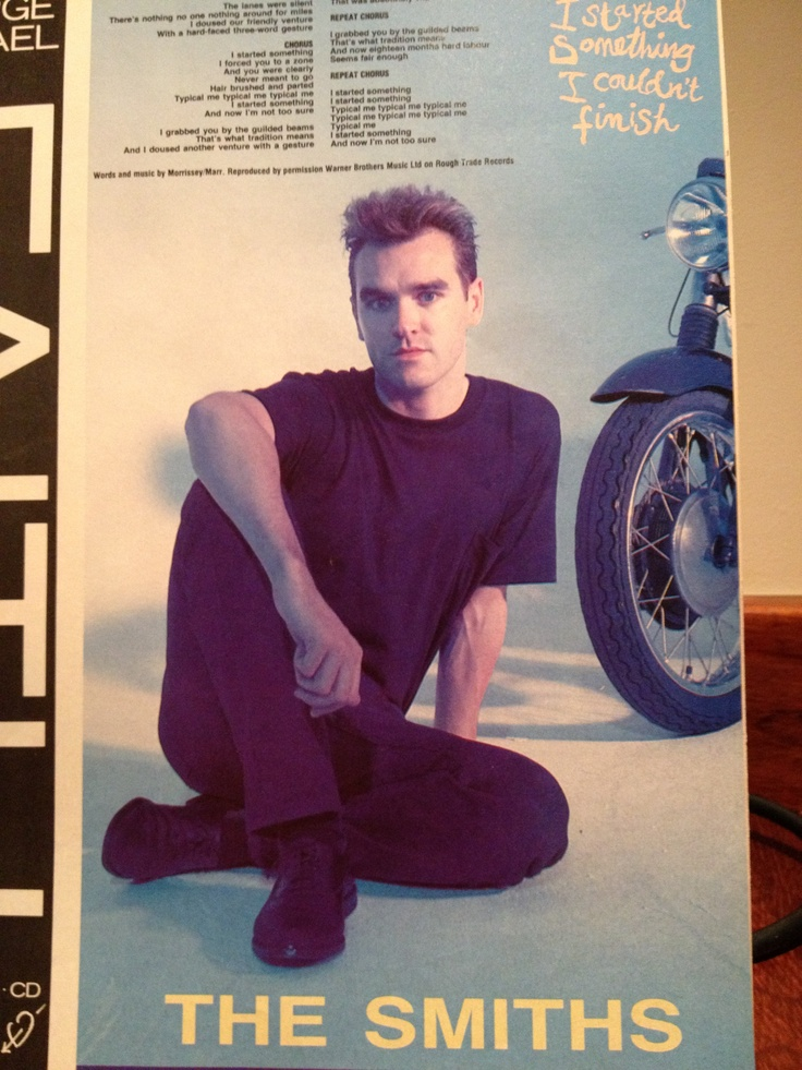 53 best the smiths  morrissey images on pinterest