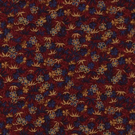 Robert Kaufman Fabrics: EV-2830-2 RCH RED from Oriental Traditions Original Collection