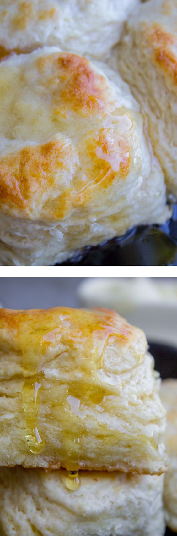 How to Make Ultra Flaky Buttermilk Biscuits from The Food Charlatan. Who can resist a crispy-on-the-outside, tender-in-the-middle, mile-high flaky buttermilk biscuit? It's the perfect comfort food! Here's how to make them. It's not hard, just a few simple tricks! This is so delicious with some butter and honey.