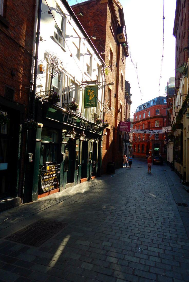 Matthew Street, Liverpool, England, UK