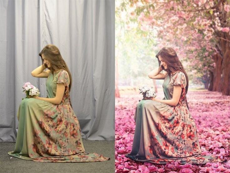 Before and after Photoshop images - 2