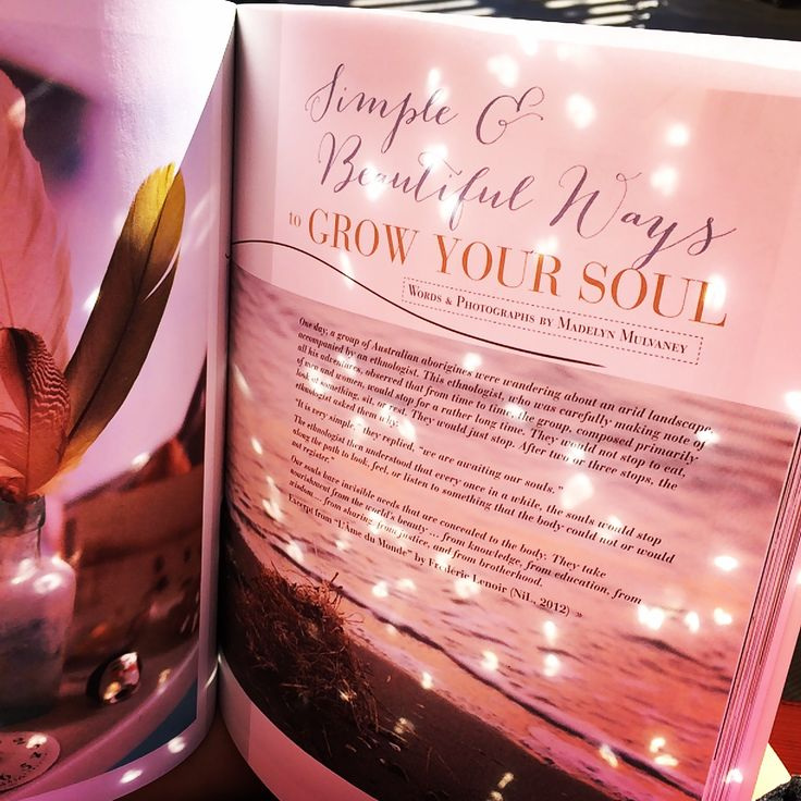 grow your soul with my favourite magazine Bella Grace