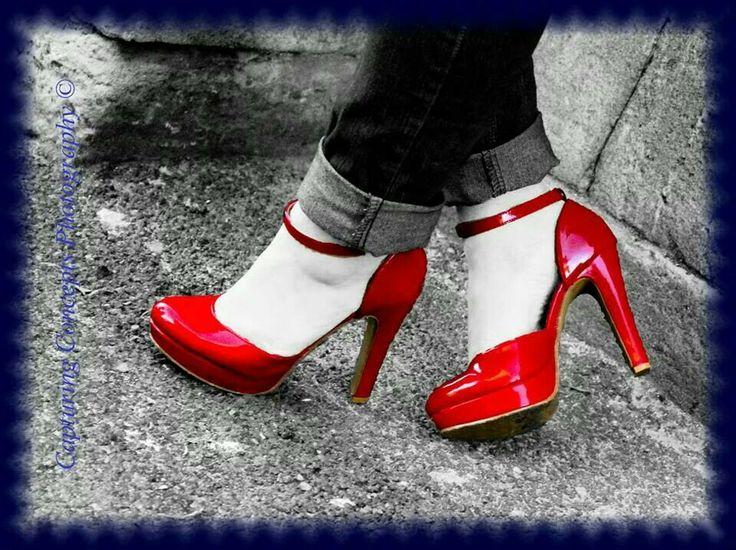 Zuriah - Red heels