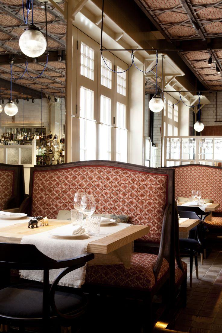 Chiltern Firehouse Restaurant and Hotel, London, design by Studio KO (2014).