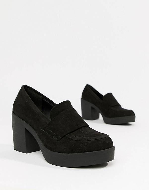e26d9dfd0a63 ASOS DESIGN Tempo chunky loafers