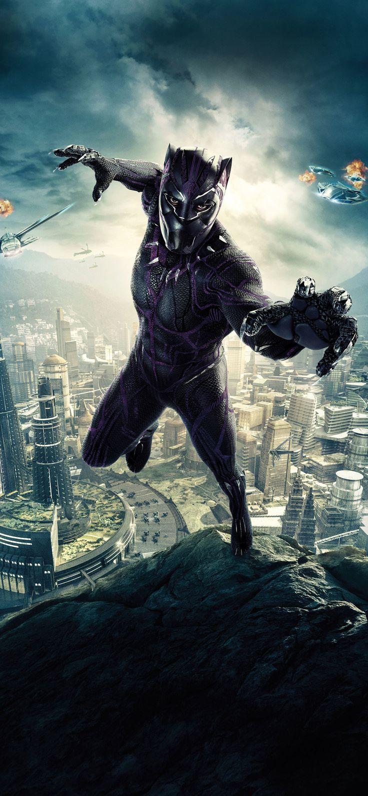 1125x2436 Black Panther 10k Poster Iphone XS,Iphone 10