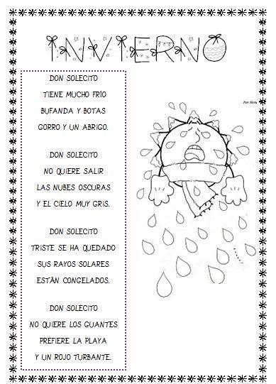 M s de 25 ideas fant sticas sobre poemas infantiles en for Actividades para jardin