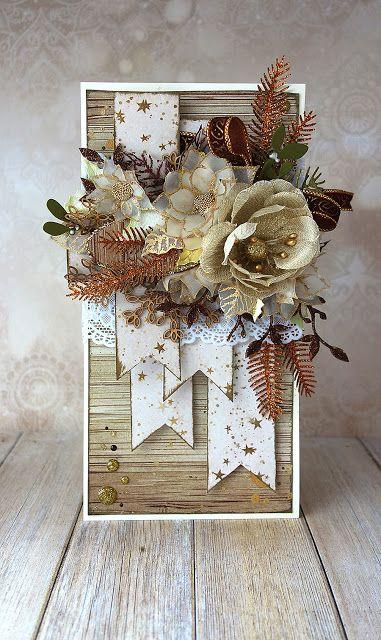 Blog Craft Passion: Wszystkie odcienie złota/ Total gold