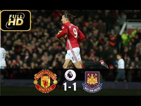 Manchester United vs West Ham 1-1 ● Highlights & All Goals ● EPL Novembe...