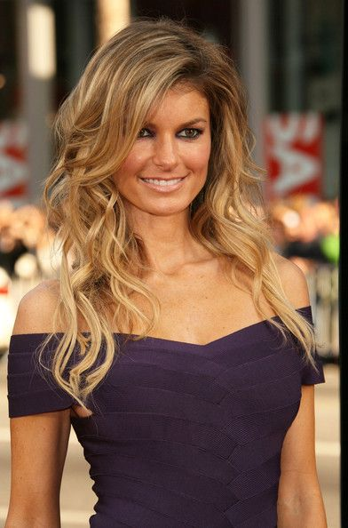 Marisa Miller ombre Hair...her waves are flawless