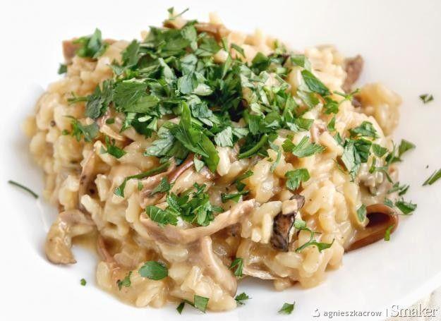 Kremowe risotto z grzybami w 1/2 godziny!