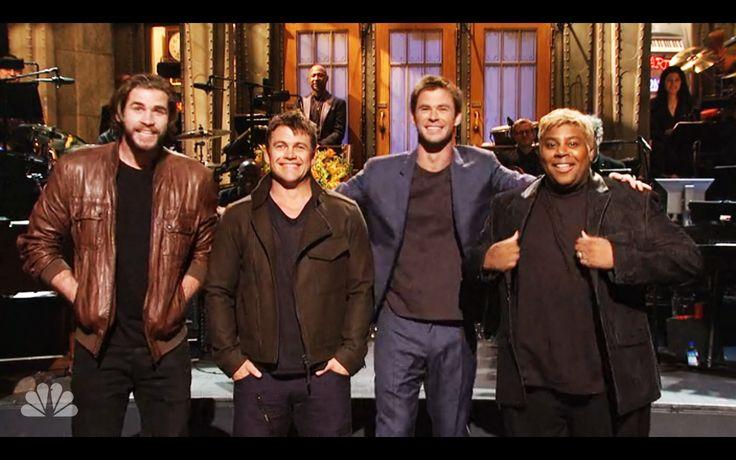 Chris Hemsworth Brought His Hotness, Hilarity to 'SNL' Chris Hemsworth #ChrisHemsworth