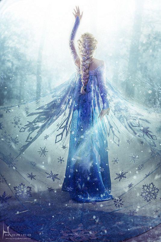 Queen Elsa from Frozen, Cosplay by Yurai