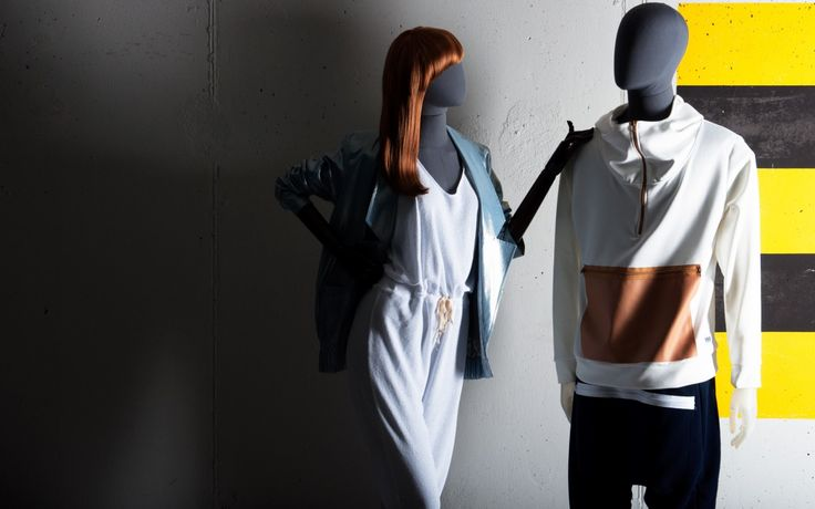 OLD MODERN Collection by More Mannequins #FemaleMannequins #MaleMannequins #dudzinska #fashion #industrial #concrete