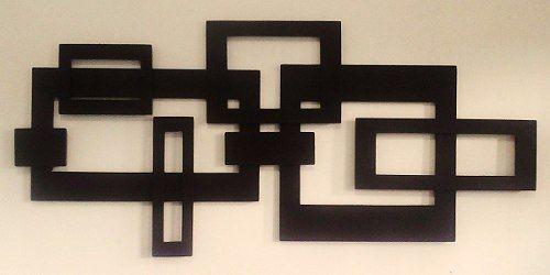 Quadro Escultura Mdf- Abstrato