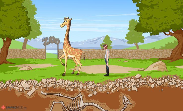 Mobile game cartoon