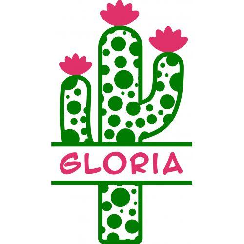 Download Image result for free cactus svg | Cricut monogram, Free ...