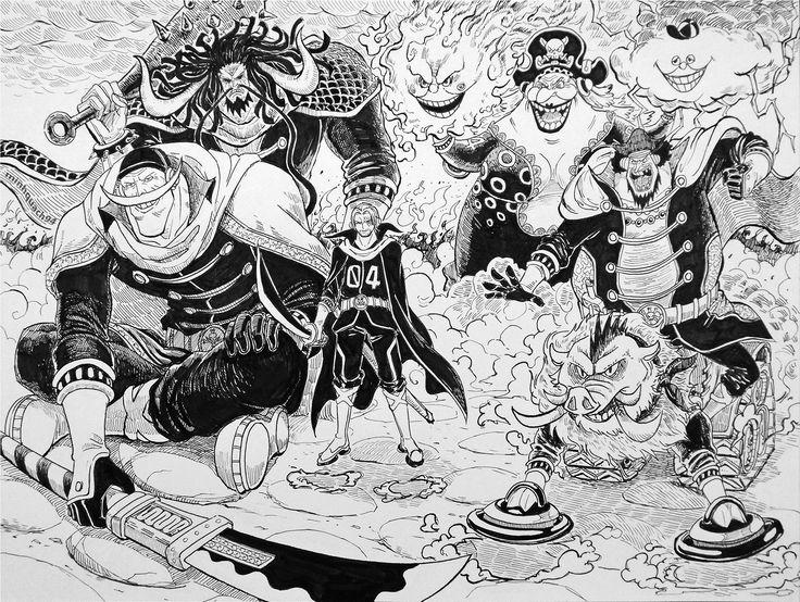One Piece - YONKOU (New & Old)