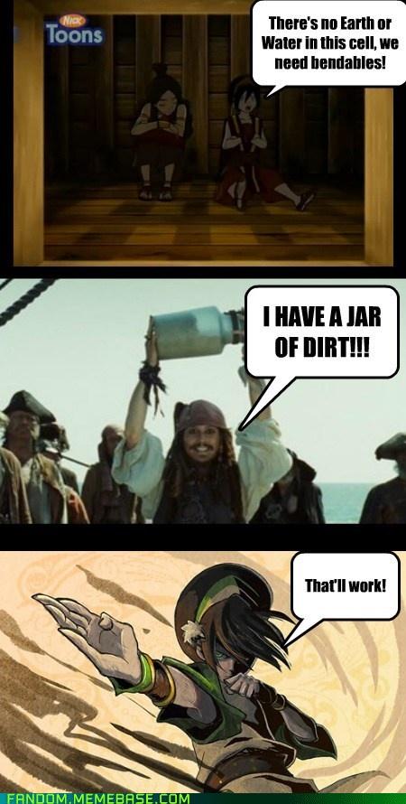 I swear... I am creased!! Jack sparrow forever the hero