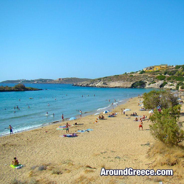 The beautiful Kalathas beach in Chania on the famous Greek island of Crete  #Kalathas #Chania #Crete #Greece #Greekislands #holidays #vacations #travel #tourism #beaches #summer #Χανια #Κρητη #Ελλαδα #ΕλληνικαΝησια #διακοπες #ταξιδια