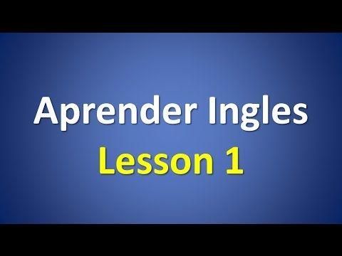 Curso de Ingles Nivel Inicial para principiantes. - YouTube
