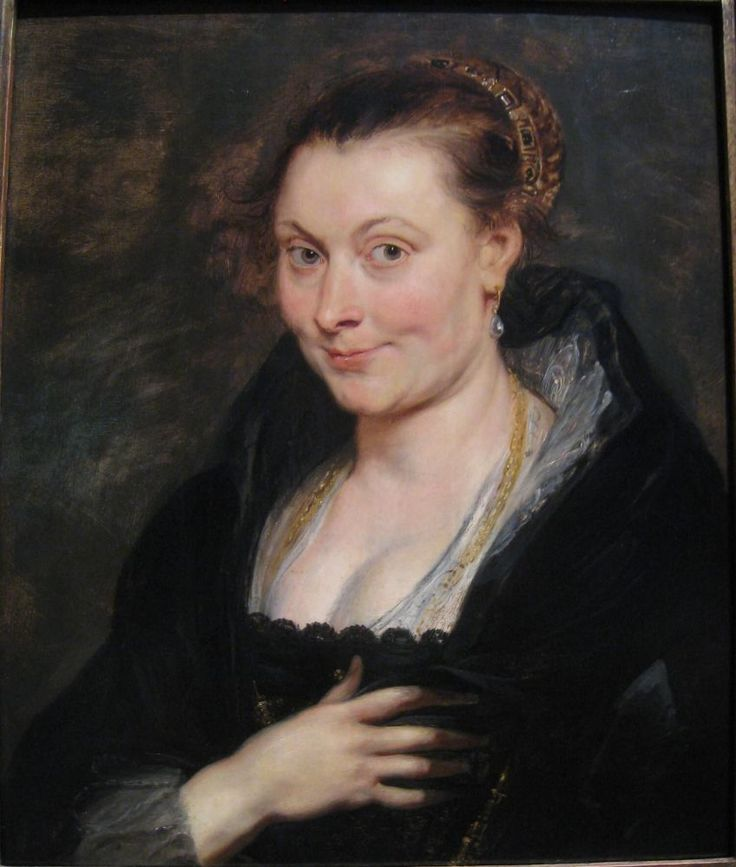 Питер Пауль Рубенс. Изабелла Брант. 1625 г.