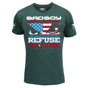 Mens Boxing Jerseys Bad Boy Hayabusa MMA Boxing Clothes Tiger Muay Thai T shirt Cotton Short-sleeved Wrestling Singlets M-XXL