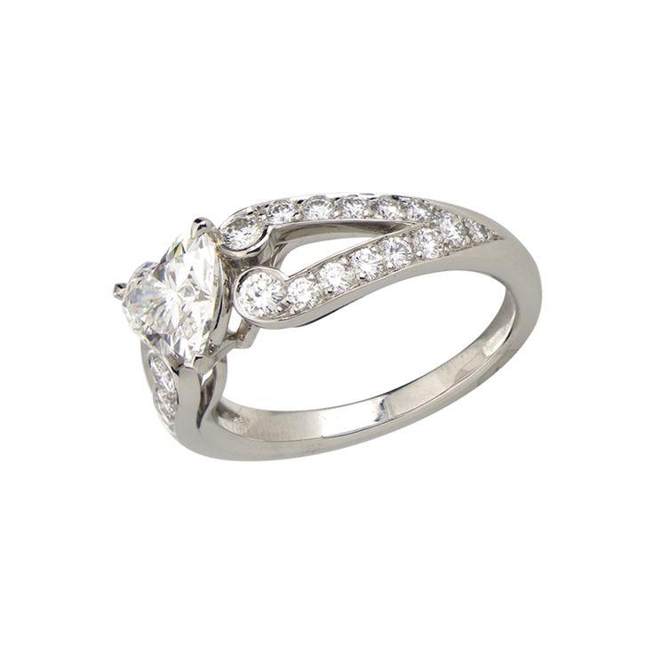 ...  Bagues de mariage cartier, Bagues en diamant et Anneaux de diamant